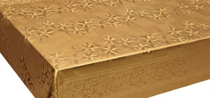 Emboss With Spunlace Backing Table Cover