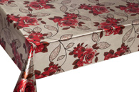 Table Cover - Gold Or Silver Table Cover - Double Face Printed Table Cover - F8001