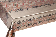 Table Cover - Gold Or Silver Table Cover - Double Face Printed Table Cover - F8023